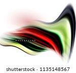 fluid liquid mixing colors... | Shutterstock .eps vector #1135148567