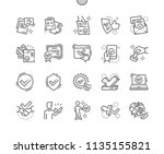 approve well crafted pixel...   Shutterstock .eps vector #1135155821