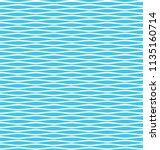 simple geometric wave seamless... | Shutterstock .eps vector #1135160714