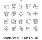 testimonials well crafted pixel ...   Shutterstock .eps vector #1135173809