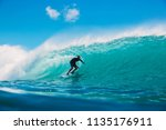 july 7  2018. bali  indonesia....   Shutterstock . vector #1135176911