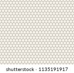 clean minimal geometric retro... | Shutterstock .eps vector #1135191917