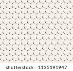 clean minimal geometric retro... | Shutterstock .eps vector #1135191947