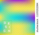 vector bright geometric... | Shutterstock .eps vector #1135202084