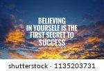 motivational and inspirational... | Shutterstock . vector #1135203731