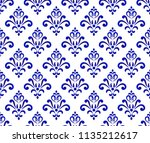 abstract floral ornament... | Shutterstock .eps vector #1135212617