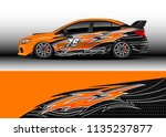 car decal graphic vector  truck ... | Shutterstock .eps vector #1135237877