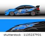 car decal graphic vector  truck ...   Shutterstock .eps vector #1135237931