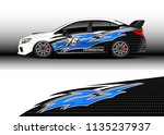 car decal graphic vector  truck ...   Shutterstock .eps vector #1135237937
