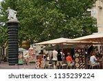 figueres  spain   august 12 ...   Shutterstock . vector #1135239224