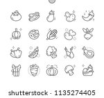 vegetables well crafted pixel...   Shutterstock .eps vector #1135274405