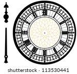 Big Ben Clock In Very High...