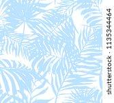 seamless pattern leaves of... | Shutterstock .eps vector #1135344464