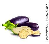 fresh  nutritious  tasty... | Shutterstock .eps vector #1135366055