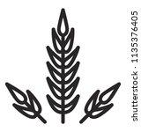 grain seeds depiction in a... | Shutterstock .eps vector #1135376405