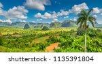 Panorama Of Vi Ales Mountains ...