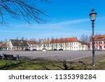 city oranienbaum with castle... | Shutterstock . vector #1135398284