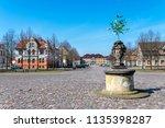 city oranienbaum with castle... | Shutterstock . vector #1135398287
