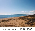 sandy beach of black sea in... | Shutterstock . vector #1135419965