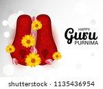 vector illustration of a banner ...   Shutterstock .eps vector #1135436954