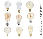 hd led bulb | Shutterstock . vector #1135451231