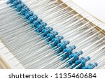 multiple metal film precision... | Shutterstock . vector #1135460684