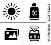 hotel service icons set  ...   Shutterstock .eps vector #1135483211