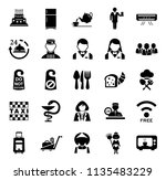vector travel icons  vacation...   Shutterstock .eps vector #1135483229
