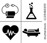 health   medical icons set  ... | Shutterstock .eps vector #1135483355