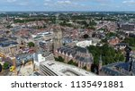 aerial picture of martinitoren... | Shutterstock . vector #1135491881