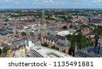 aerial picture of martinitoren... | Shutterstock . vector #1135491881