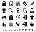 vector sale and shopping icons... | Shutterstock .eps vector #1135509794