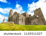 old irish castle  rock of... | Shutterstock . vector #1135511327