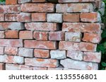 Old Loosely Stacked Bricks To A ...