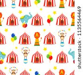 seamless background  pattern ... | Shutterstock .eps vector #1135564469