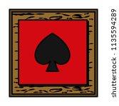 color framework pikes card...   Shutterstock .eps vector #1135594289