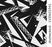 abstract seamless grunge urban... | Shutterstock .eps vector #1135621541