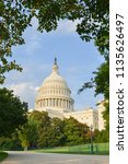 united states capitol  ...   Shutterstock . vector #1135626497