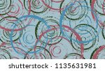 a bright pattern of chaotic... | Shutterstock .eps vector #1135631981