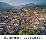 an aerial view of the historic... | Shutterstock . vector #1135636634