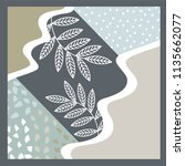 gorgeous scarf pattern design | Shutterstock .eps vector #1135662077