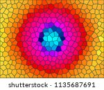 abstract wallpaper   colorful... | Shutterstock . vector #1135687691