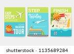 easy steps organize for your... | Shutterstock .eps vector #1135689284