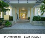 front porch and main entrance... | Shutterstock . vector #1135706027