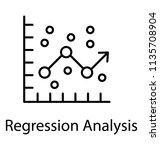 line graph presenting... | Shutterstock .eps vector #1135708904