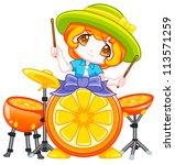 cute kid | Shutterstock . vector #113571259