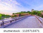 osaka japan   july 13  2018 ... | Shutterstock . vector #1135713371