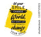 inspirational quote  motivation.... | Shutterstock .eps vector #1135715321