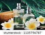 wet aroma body spray perfume... | Shutterstock . vector #1135756787