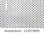 metal grid background circle... | Shutterstock . vector #113575855